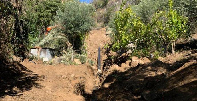 Joppolo, Sorical sostituisce un tratto dell'acquedotto Medma