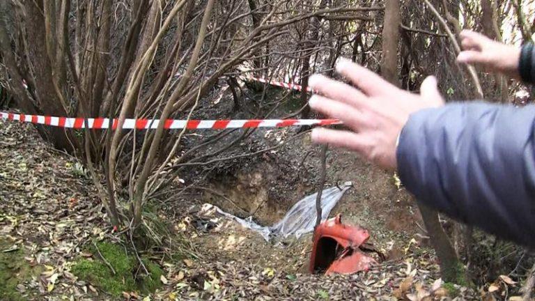 Viaggio tra i boschi di Ariola di Gerocarne per il giallo del corpo seppellito – Video