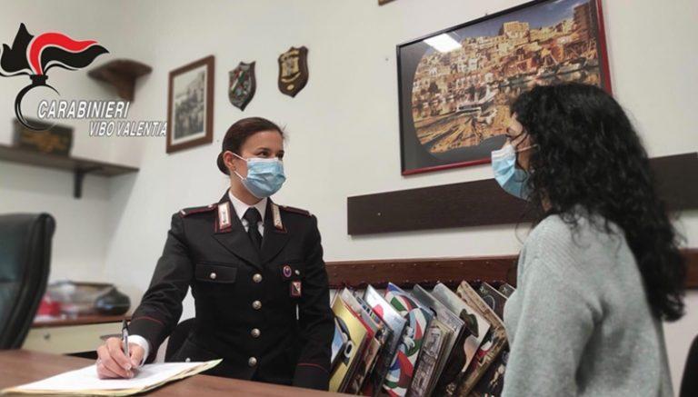 L'impegno dell'Arma nel Vibonese contro la violenza sulle donne