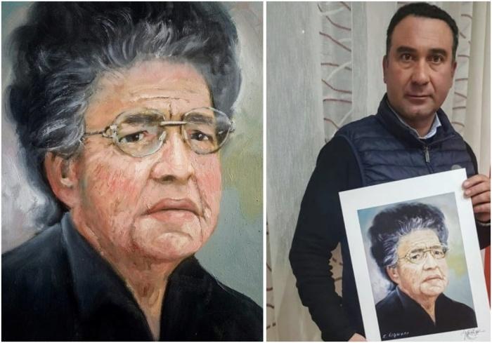 Liguori dipinge Natuzza e offre le opere in cambio di fondi per l'ospedale di Vibo