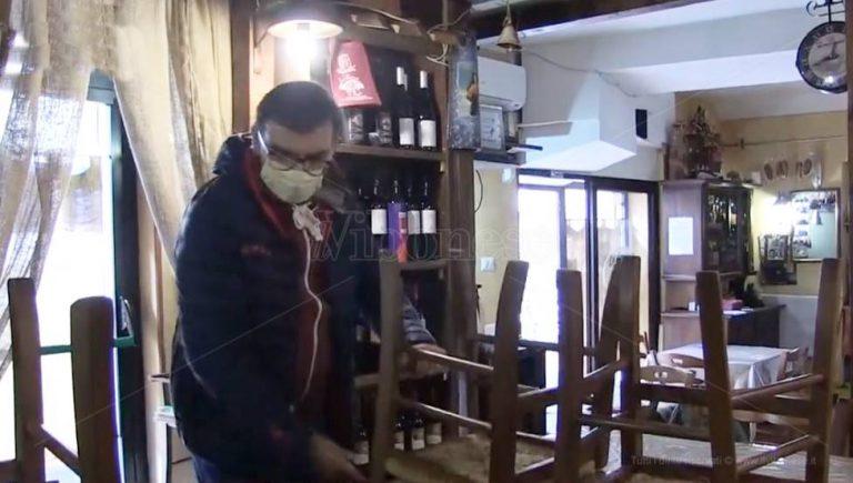 Calabria zona rossa, l'ira dei ristoratori di Vibo: «Ora basta» – Video