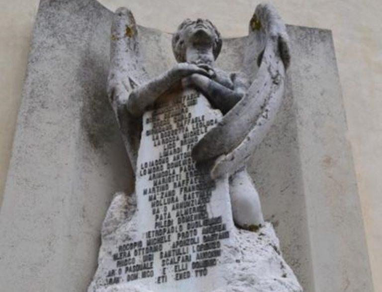 4 novembre, i monumenti vibonesi che ricordano i caduti della Grande Guerra