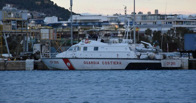 La CP 265 della Guardia Costiera di Vibo a Ibiza per collaborare con le autorità spagnole