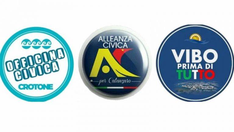 Regionali, Federazione civica Calabria al fianco dei sindaci vibonesi