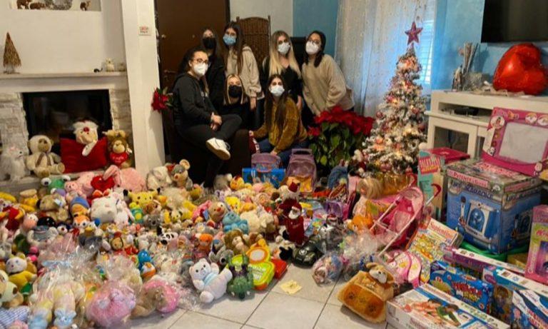 Paravati, oltre 200 giocattoli raccolti e consegnati ai bimbi per Natale
