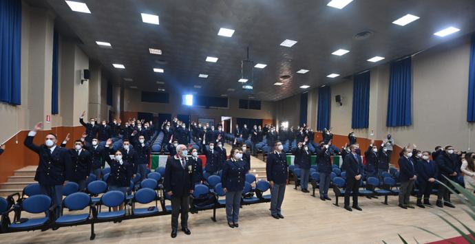 Scuola di Polizia di Vibo, giurano 123 nuovi agenti
