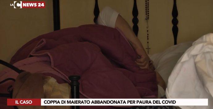 Maierato, coppia di anziani assediata dal Covid. Ma il sindaco si arrabbia con la stampa – Video