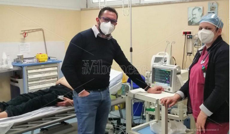 All'ospedale di Tropea donato un monitor multiparamedico