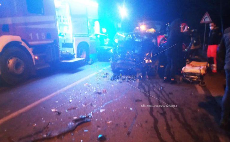 Incidente stradale alle porte di Mileto: due i feriti