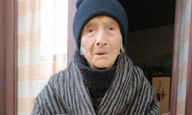 Zia Letterina operata a 101 anni, San Costantino di Briatico fa il tifo per lei