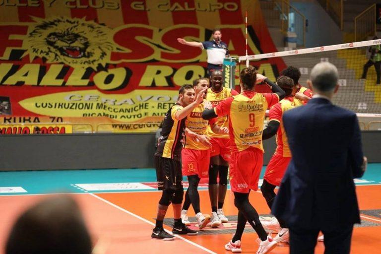 Superlega, la Tonno Callipo torna alla vittoria: Ravenna cede in tre set – Video