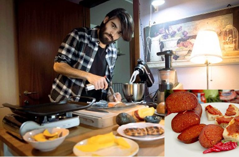 """Lo chef Lorenzo Biagiarelli nuovo """"ambasciatore della 'nduja di Spilinga nel mondo"""""""