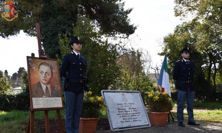 Al Parco delle Rimembranze una targa in ricordo dell'ex Questore Giovanni Palatucci