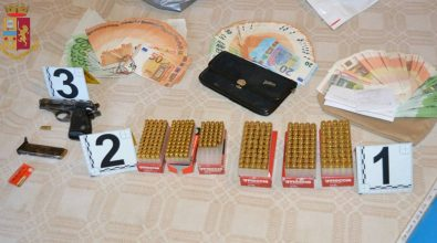 Pistola clandestina e munizioni in casa, arrestato 61enne di Rombiolo