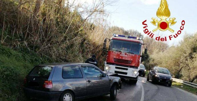 Traffico in tilt tra Vibo e la Marina: Ss18 chiusa e incidente a Triparni – Foto