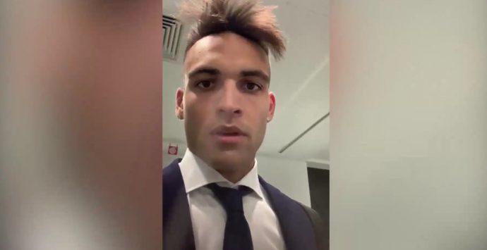 «Matteo non mollare»: il video messaggio del bomber dell'Inter al bimbo di Vibo