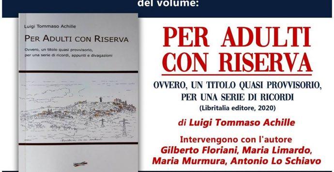 """L'architetto Luigi Tommaso Achille ospite di """"Incontri con i libri e gli autori"""""""