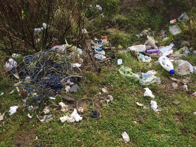 Rifiuti al Castello di Vibo, in campo l'associazione Plastic free