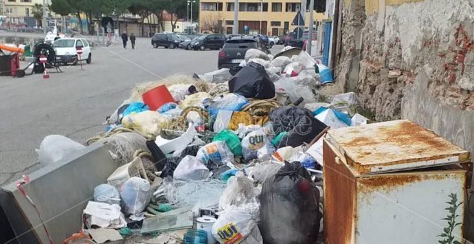 Una discarica al porto di Vibo Marina, Patania: «Rimuoverla al più presto»