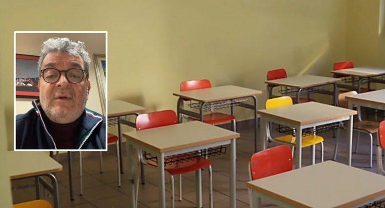 Scuole chiuse per 2-3 settimane per vaccinare docenti e personale Ata: l'annuncio di Spirlì – Video
