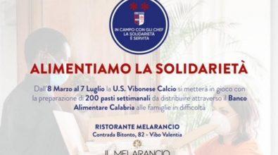 La Vibonese torna sul campo della solidarietà: 10mila pasti ai bisognosi