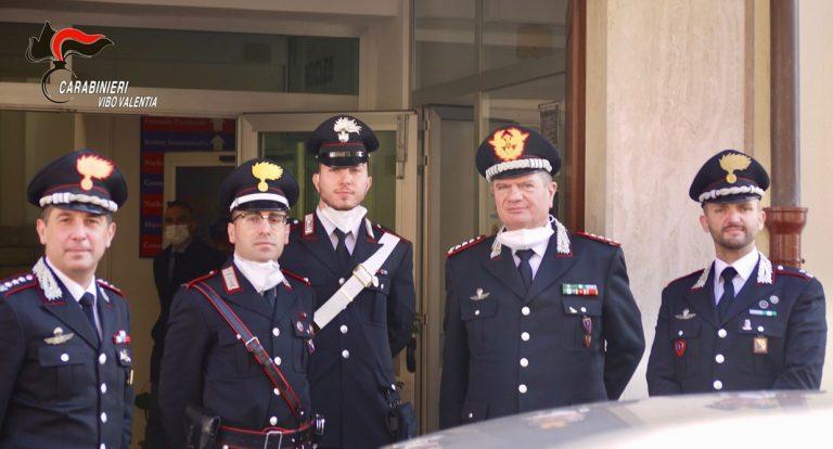 Visita a Vibo del generale dell'Arma Gianfranco Cavallo