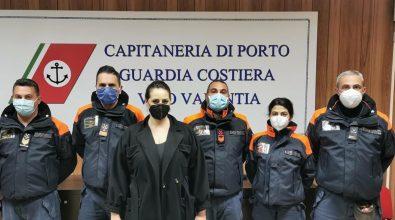 Il sottosegretario Nesci in visita alla Capitaneria di porto di Vibo Marina