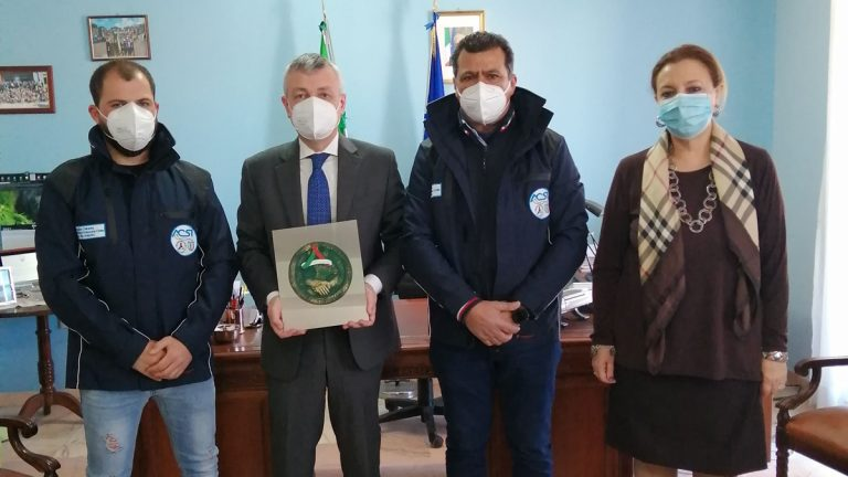 Vibo, il volontario aggredito al centro vaccini ricevuto dal prefetto Zito