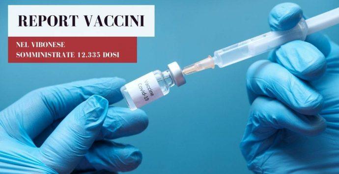 Vaccini anti-Covid, nel Vibonese superate le 12.330 somministrazioni