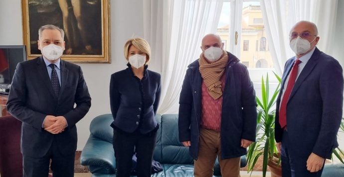 Vibo, il management Arpacal incontra il sindaco Limardo