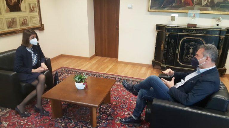 Vibo, il neo prefetto Lulli in visita istituzionale alla Provincia