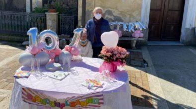 Littera compie 101 anni, San Costantino di Briatico festeggia la sua storica nonnina