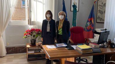 Vibo Valentia, primo incontro ufficiale tra il sindaco Limardo e il nuovo prefetto Lulli