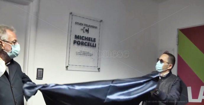 Gli studi di LaC Tv intitolati a Michele Porcelli: «Rimarrà con noi per sempre» – Video