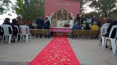 Mileto, inaugurata dal vescovo la cappella della Madonna della Guardia