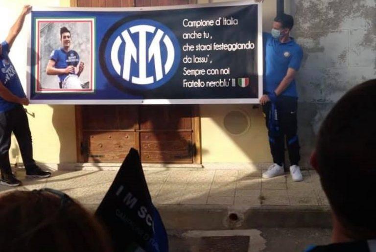Inter campione d'Italia, a Mileto il corteo omaggia Francesco Prestia Lamberti