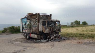 Intimidazione a Mileto: camion distrutto da un rogo