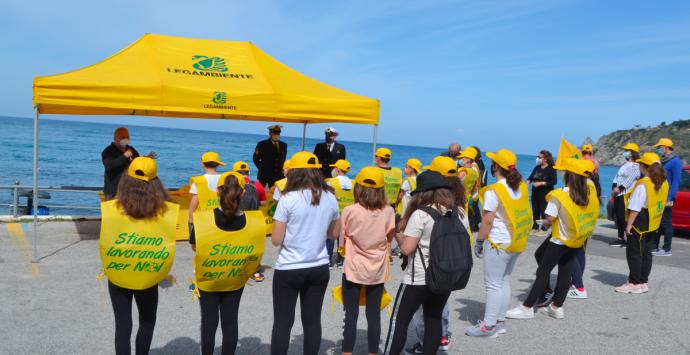 Spiagge Pulite 2021: la carovana di Legambiente approda a Santa Maria di Ricadi