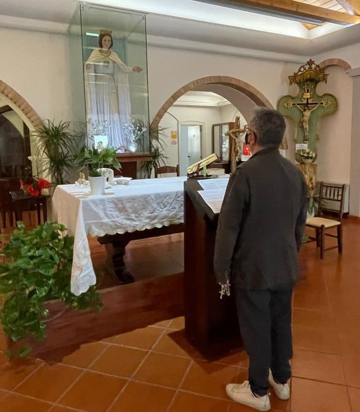 Visita del presidente Spirlì alla tomba di Natuzza, il plauso del sindaco