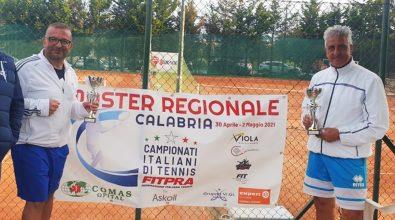 Tennis: i vibonesi Silvestri, Caccamo e Dotro ai Master nazionali Tpra