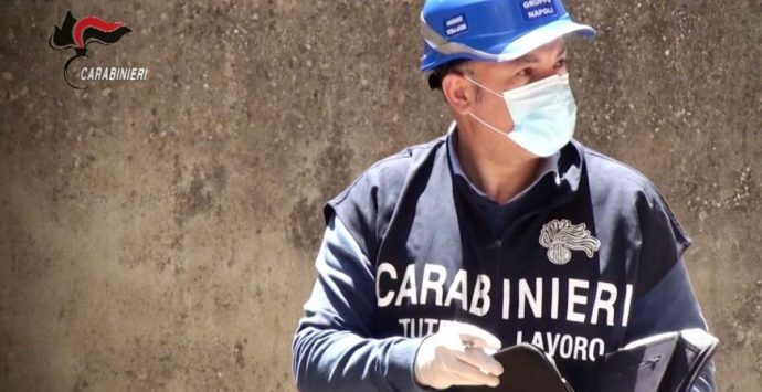 Tutela del lavoro, sanzioni per 164mila euro a ditte nel Vibonese