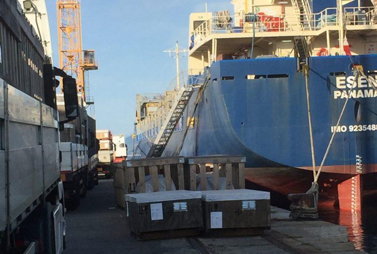 Da Vibo Marina alla Nigeria, l'export di macchinari parte dal Nuovo Pignone