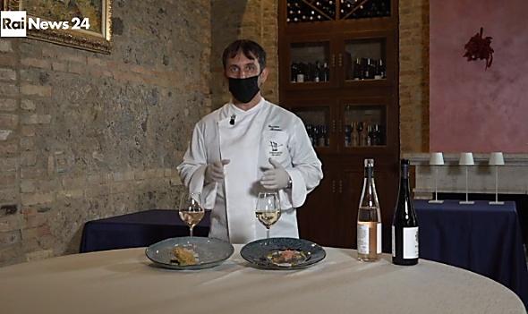 Insieme per ripartire, l'abbraccio tra le cantine Benvenuto e i piatti dello chef Romano su Rainews