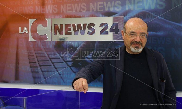 Pino Aprile nuovo direttore di LaC News24: «Daremo voce a tutto il Sud» – Video