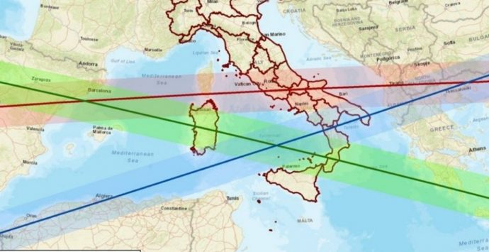 Calabria sulla traiettoria del razzo cinese: ecco dove passerà e perché è fuori controllo