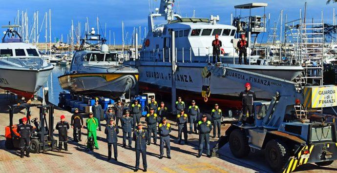 Vibo Marina, stazione navale Finanza: grande polo logistico al servizio del territorio