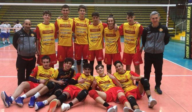 Volley, al via i tornei giovanili maschili: esordio con vittoria per la Tonno Callipo U17