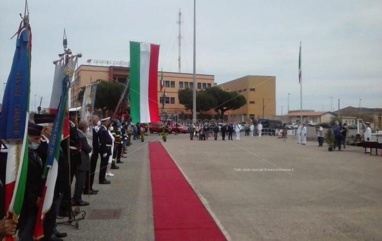 Festa della Repubblica, celebrazione a Vibo Marina nel piazzale della Capitaneria