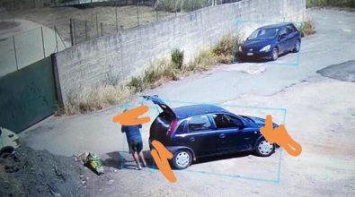 """Mileto, """"lordazzo seriale"""" beccato sul fatto mentre getta i rifiuti per strada"""
