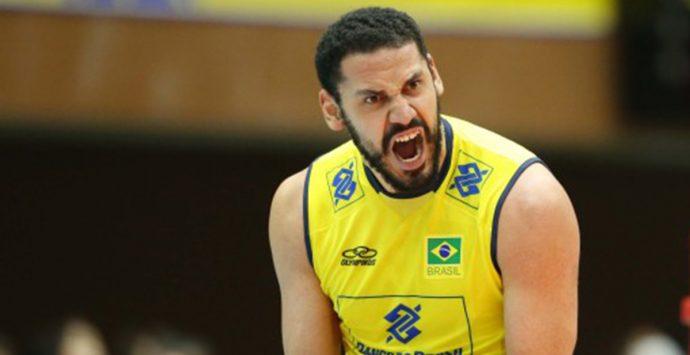 Un campione olimpico per la Tonno Callipo: ingaggiato lo schiacciatore Mauricio Borges